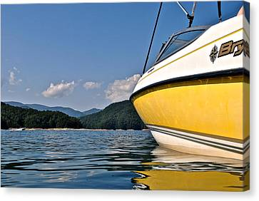 Lake Jocassee Canvas Print by Frozen in Time Fine Art Photography