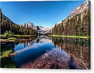 Lake Josephine Canvas Print