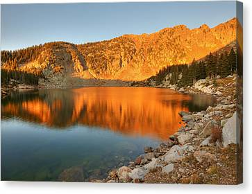 Lake Katherine Sunrise Canvas Print