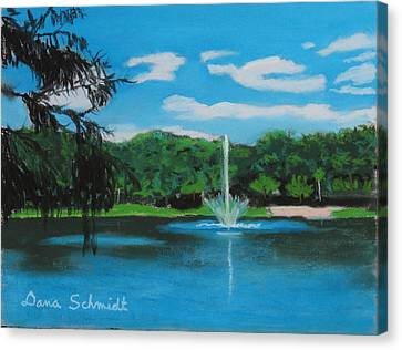 Lake Lilly In Maitland Canvas Print