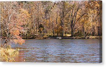 Lake Lincoln Canvas Print by Sandy Keeton