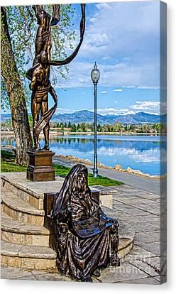 Lake Loveland Canvas Print by Baywest Imaging