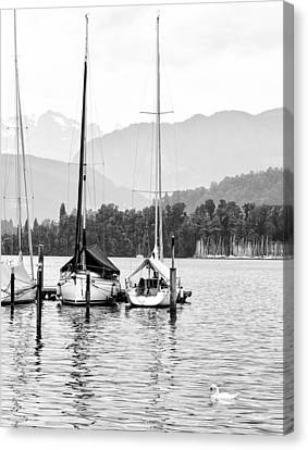 Lake Lucerne Switzerland  Canvas Print