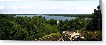 Lake Macatawa From Mount Pisgah Canvas Print