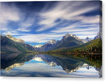 Lake Macdonald Canvas Print by Jerry Fornarotto