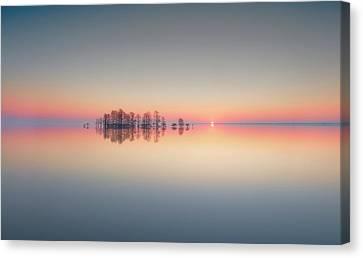 Lake Mattamuskeet Memory Canvas Print