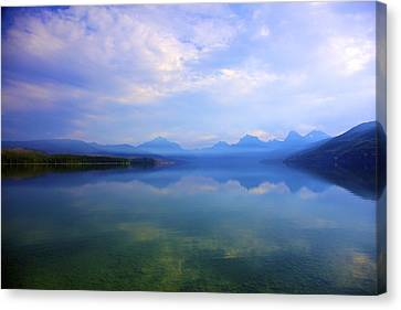 Lake Mcdonald Canvas Print by Terry Horstman