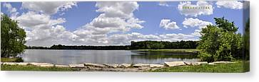 Canvas Print featuring the photograph Lake Of Dreams by Verana Stark