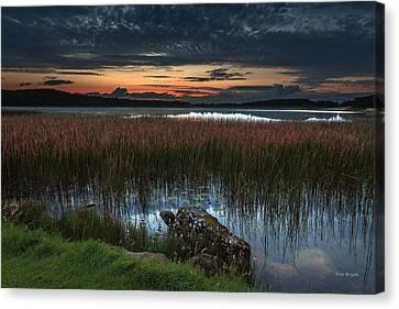 Lake Of The Goddess Canvas Print by Tim Bryan