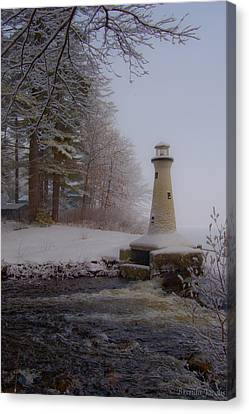 Lake Potanipo Lighthouse Canvas Print