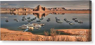 Lake Powell Canvas Print by Adam Jewell