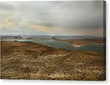 Lake Powell  Canvas Print by Joseph G Holland