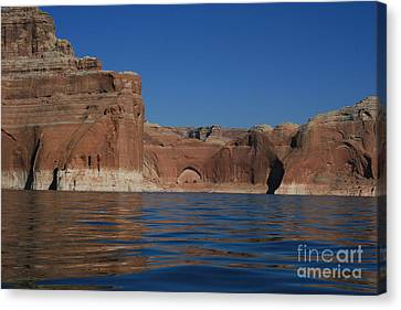 Lake Powell Landscape Canvas Print by Marty Fancy