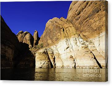 Lake Powell Rock And Sky Canvas Print by Thomas R Fletcher