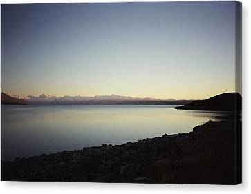 Aotearoa Canvas Print - Lake Pukaki First Light by Peter Mooyman