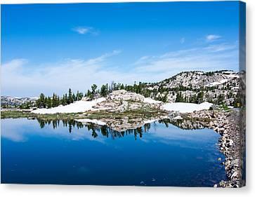 Lake Reflections Canvas Print