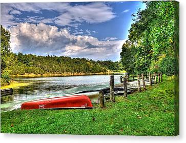 Lake Robertson Canvas Print by Todd Hostetter