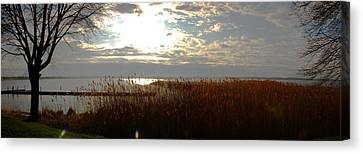 Lake Seneca Canvas Print by Gary Wightman