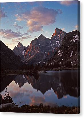 Lake Solitude Grand Teton National Park Canvas Print
