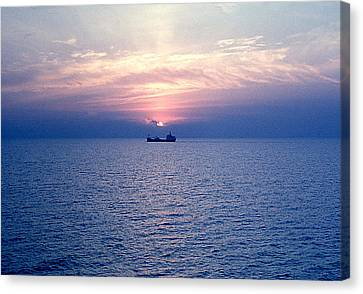 Lake Superior Evening Canvas Print by George Cousins