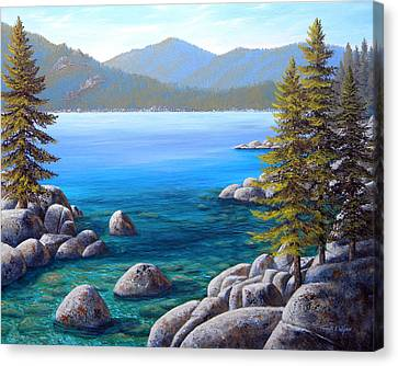 Lake Tahoe Inlet Canvas Print