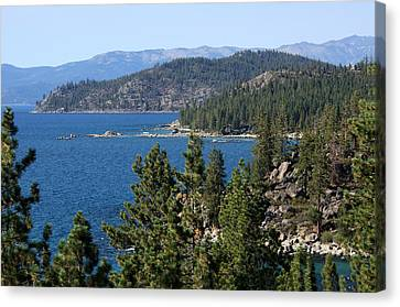 Lake Tahoe Nevada Canvas Print by Aidan Moran