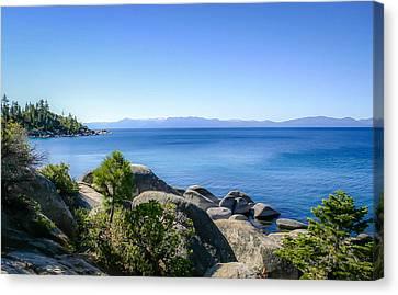 Lake Tahoe Shore Canvas Print