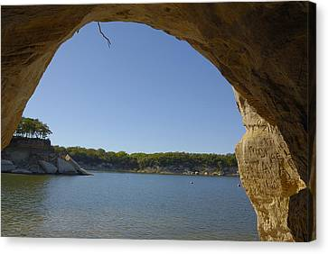 Lake Texoma Eisenhower State Park  Texas Canvas Print by Charles Beeler