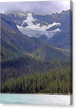 Lake To Sky In Jasper Canvas Print