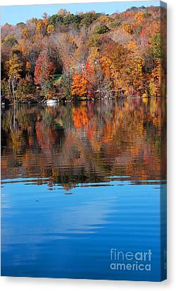 Lake Waramaug Blue II Canvas Print by Andrea Simon