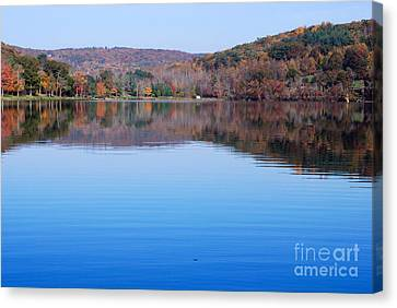 Lake Waramaug Blue IIi Canvas Print by Andrea Simon