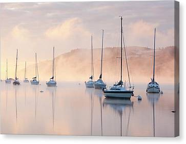 Lake Windermere Canvas Print by Ashley Cooper