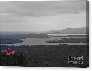 Lake Winnipesaukee      Sold Canvas Print