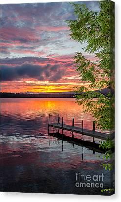 Lake Winnisquam Sunrise 2 Canvas Print