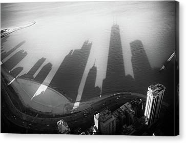 Aerial Canvas Print - Lakecreepers by Vasko Yankov