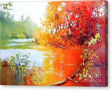 Lakescene 1 Canvas Print