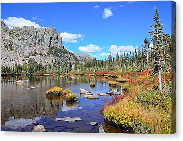 Lakeside Color Canvas Print by Tranquil Light  Photography
