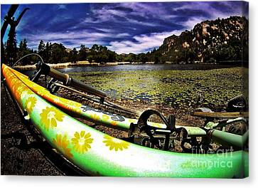 Lakeside Cruzzz Canvas Print by Scott Allison