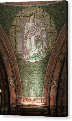 Lakewood Chapel Detail Faith Canvas Print by T C Hoffman