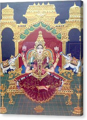 Lakshmi Canvas Print by Jayashree