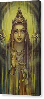 Yantra Canvas Print - Lakshmi Kripa by Vrindavan Das