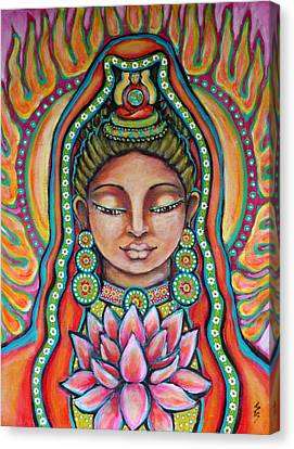 Lakshmi Canvas Print by Shelley Bredeson
