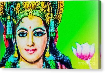 Lakshmi's Love Canvas Print