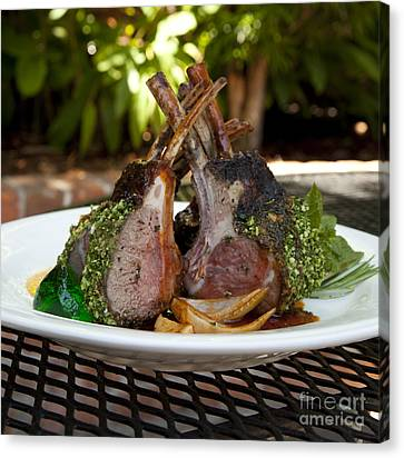 Lamb Canvas Print by New  Orleans Food