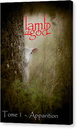 Lamb Of God Book Cover Canvas Print by Loriental Photography