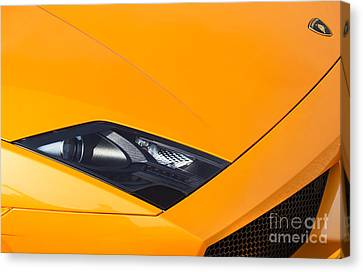 Lamborghini Abstract Canvas Print by Tim Gainey