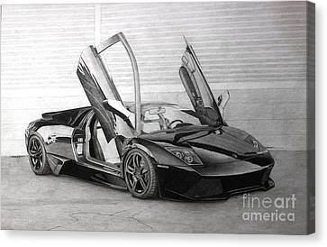 Lamborghini Lp640 Canvas Print by Gary Reising