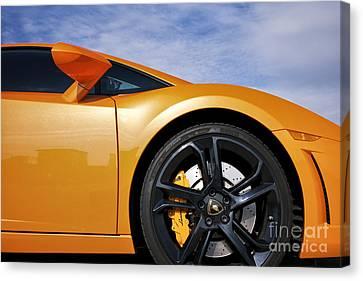 Lamborghini Gallardo Canvas Print by Tim Gainey