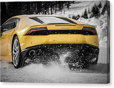 Highspeed Canvas Print - Lamborghini Huracan by Giulio Tarquinio