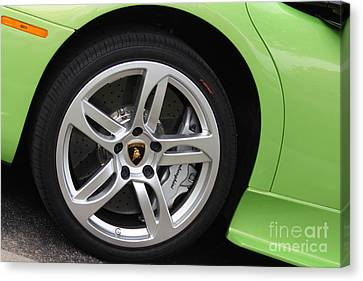 Lambowheel8680 Canvas Print by Gary Gingrich Galleries